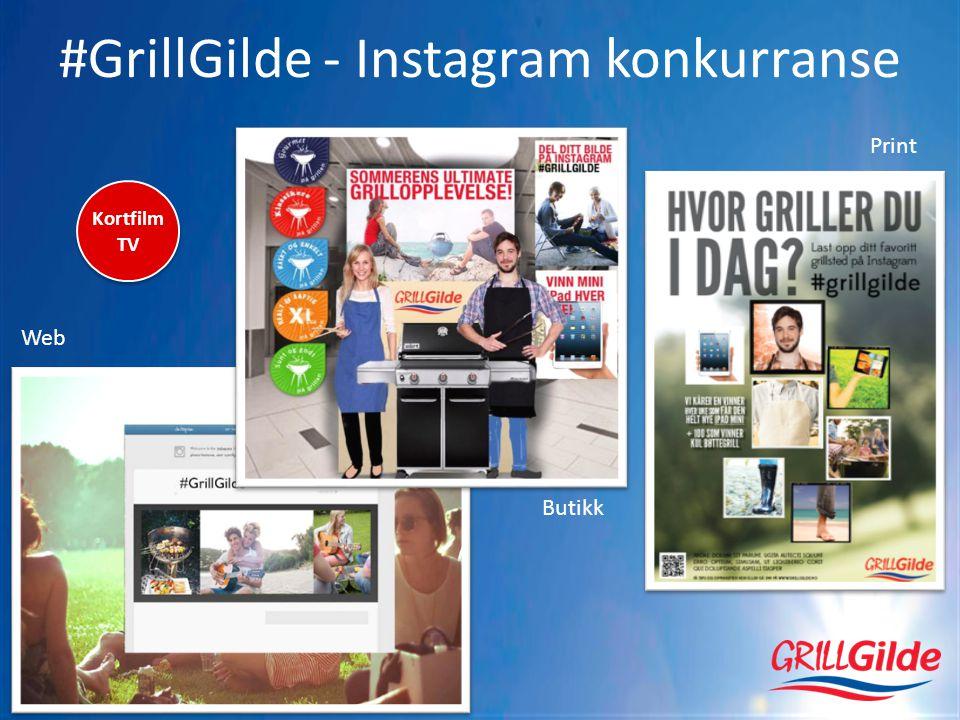 #GrillGilde - Instagram konkurranse Web Butikk Print Kortfilm TV