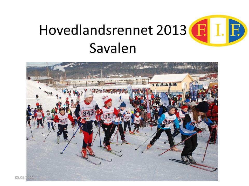 Hovedlandsrennet 2013 Savalen 05.09.2011
