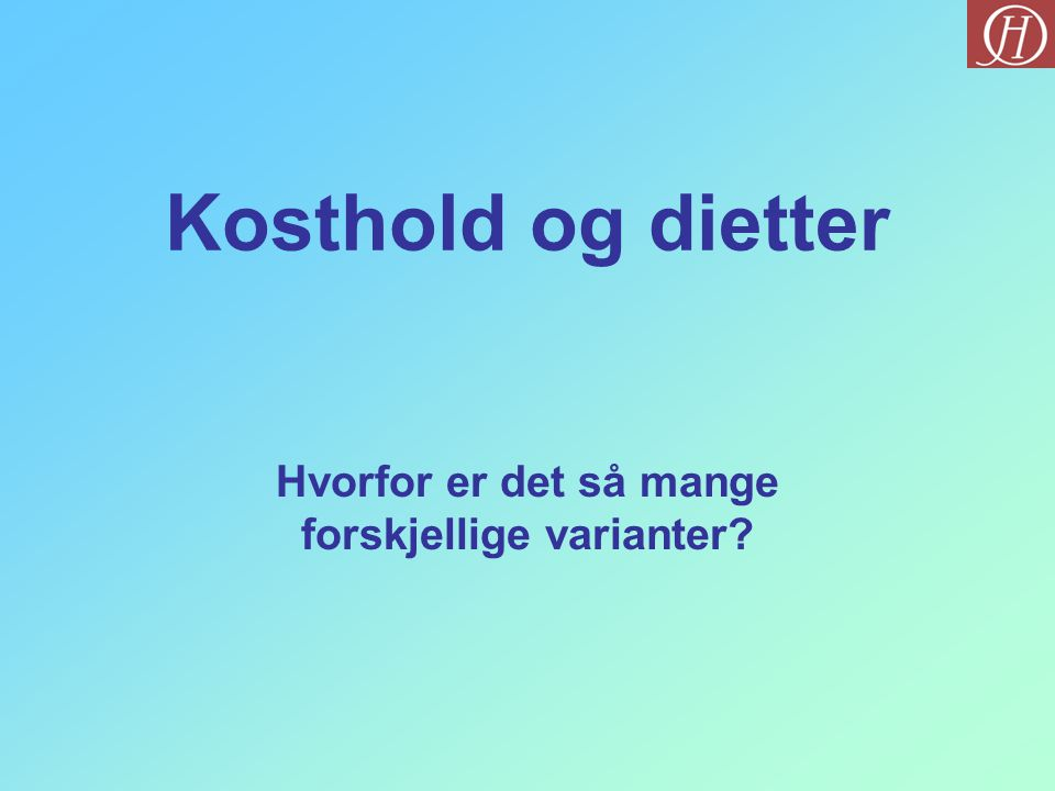 Vekt i balanse Fedon Lindberg Indremedisiner Fant ut at lav GI mat var gunstig for både vekt og helse Kanskje den som har hatt størst betydning for kostholdsdiskusjonen i Norge de siste årene