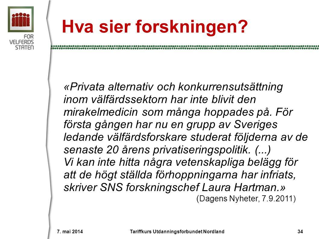 Ingen gevinst av anbud En rapport fra Anvendt kommunal- forskning (AKF) i Danmark slår fast at det ikke er dekning for påstanden om at konkurranseutsetting av velferds- tjenester gir noen generell gevinst.