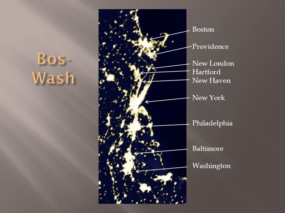 Boston Providence New London Hartford New Haven New York Philadelphia Baltimore Washington
