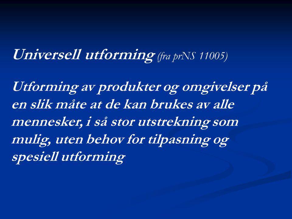 Høring  Høringsfrist: 2 mnd.fra utsendelse (utsendes midt okt.