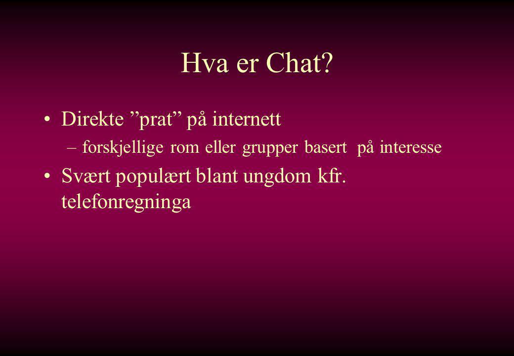 Hva er Chat.