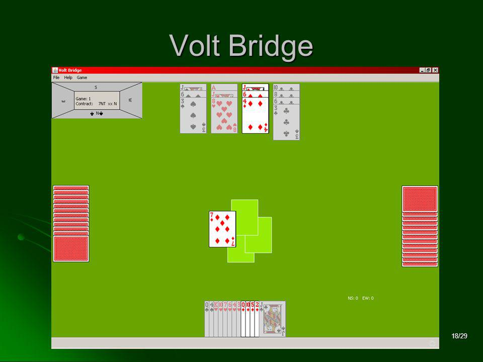 18/29 Volt Bridge