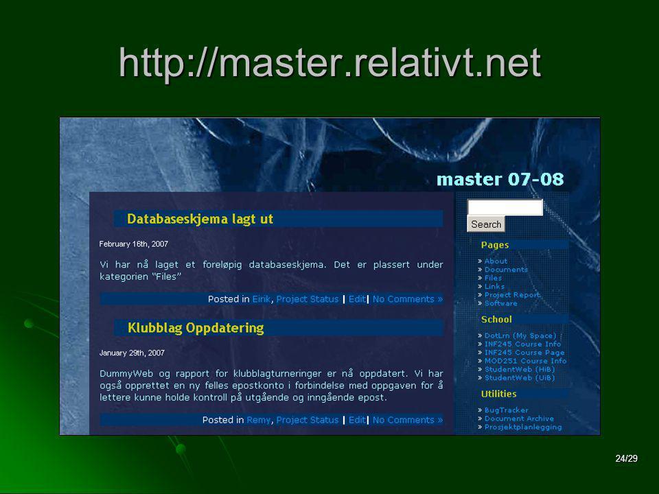 24/29 http://master.relativt.net