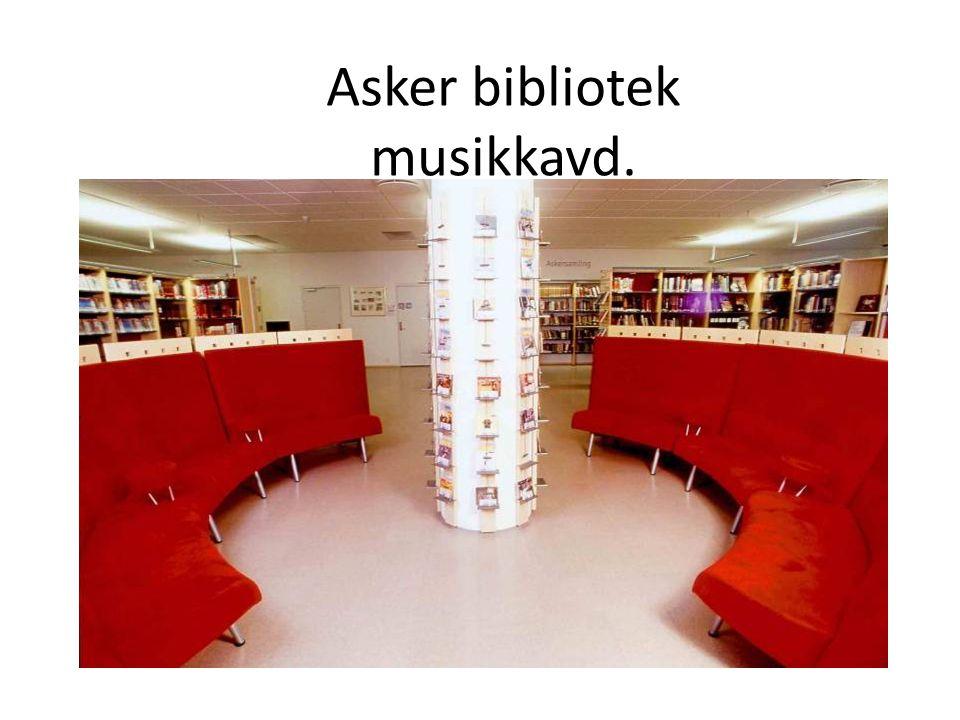 Asker bibliotek musikkavd.