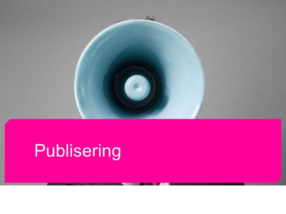 Norsk Journalistlag og Norsk Redaktørforening Publisering