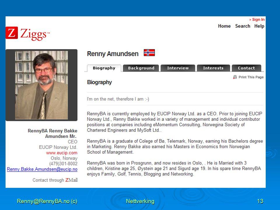 Renny@RennyBA.no (c)Nettverking13