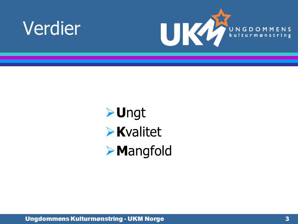 Ungdommens Kulturmønstring - UKM Norge24 Nettside