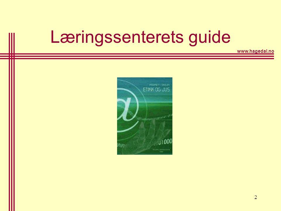 www.hagedal.no 2 Læringssenterets guide
