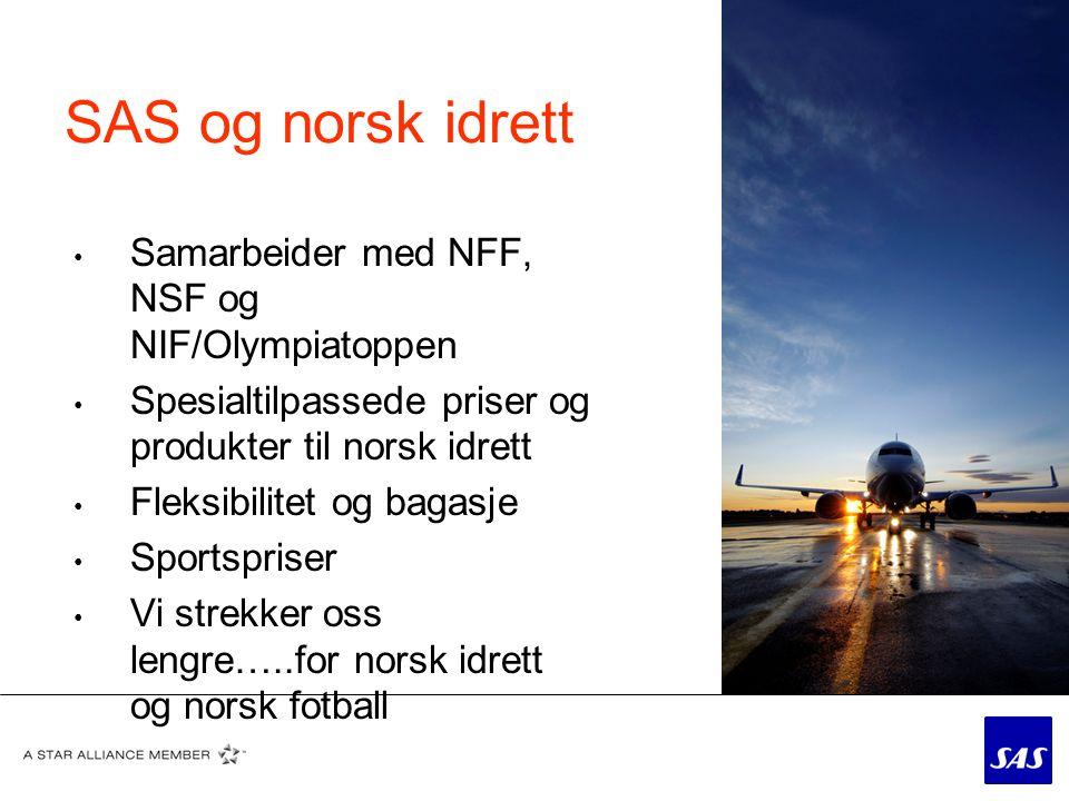 SAS Spesialsalg • Lars, Gunn, Marianne og May Iren • E-post: fotball@sas.nofotball@sas.no • Telefon: SAS Spesialsalg: 64 81 85 32