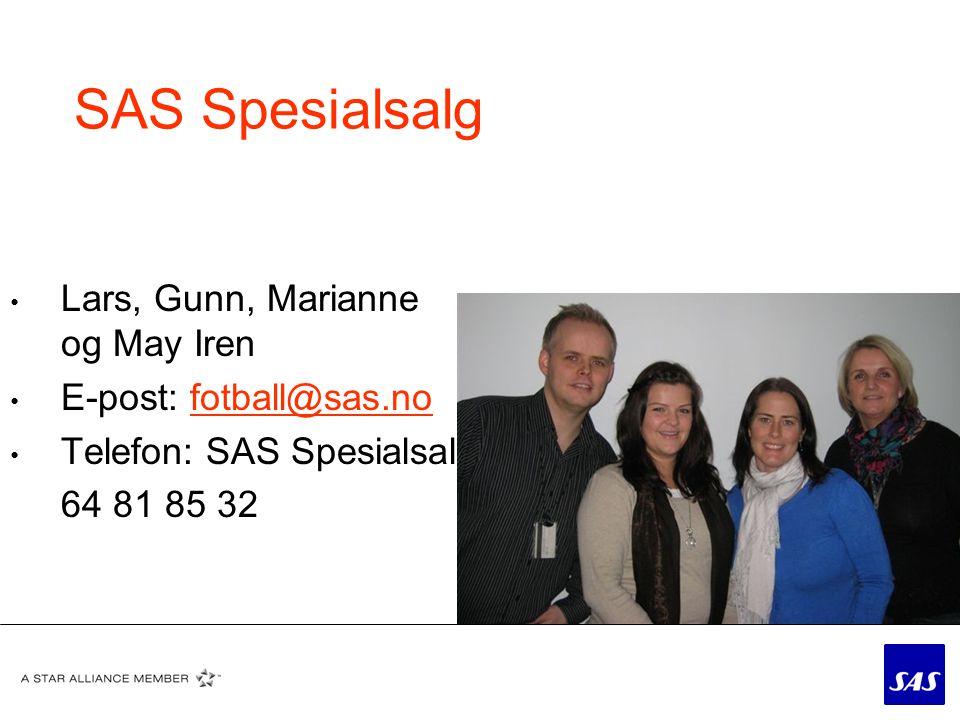 Hvorfor SAS.