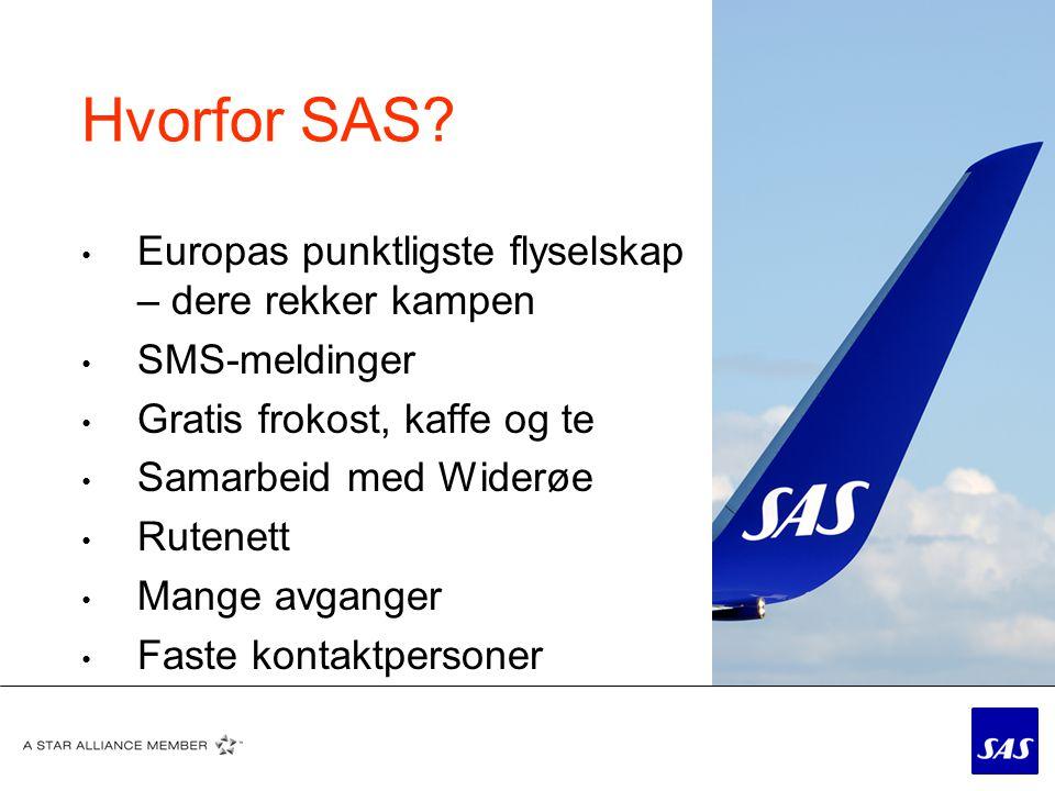 6 Mer enn 400 daglige avganger med SAS og Ca 700 totalt (inkl. WF) Rutenett i Norge :