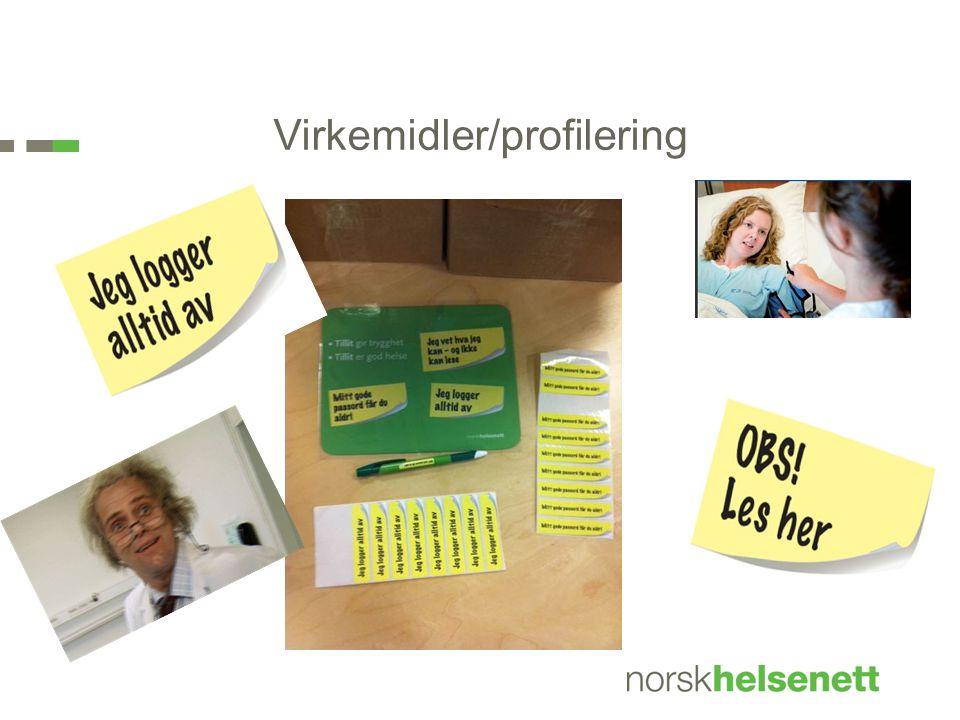 Virkemidler/profilering
