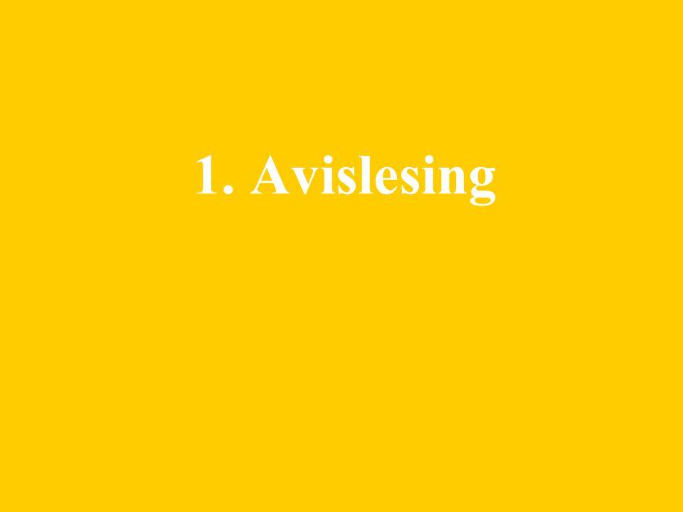 2 1. Avislesing