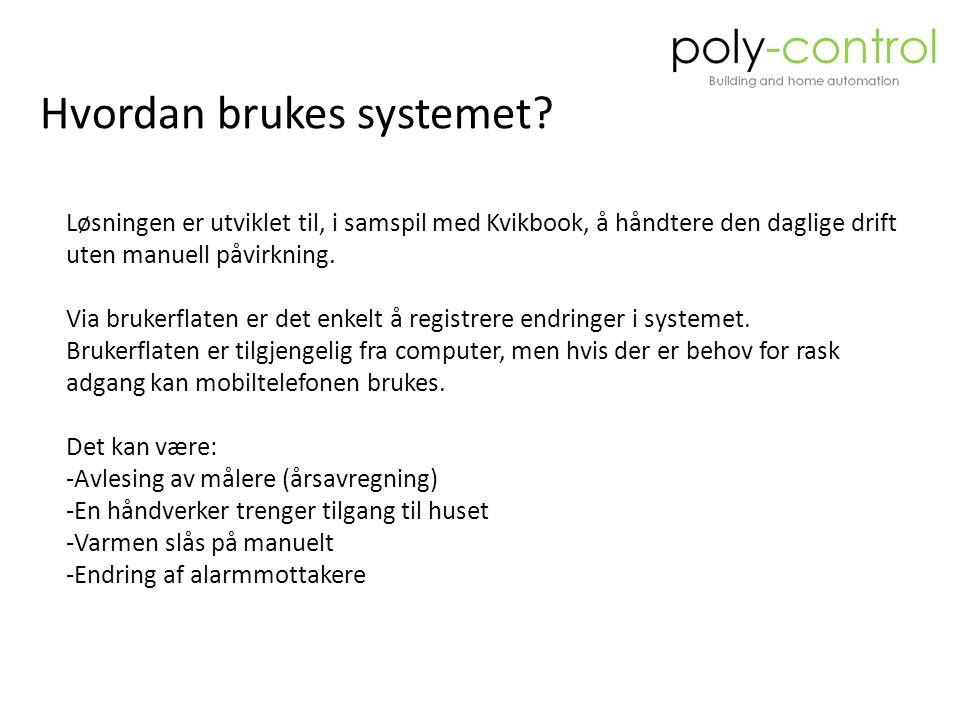 Hvordan brukes systemet.