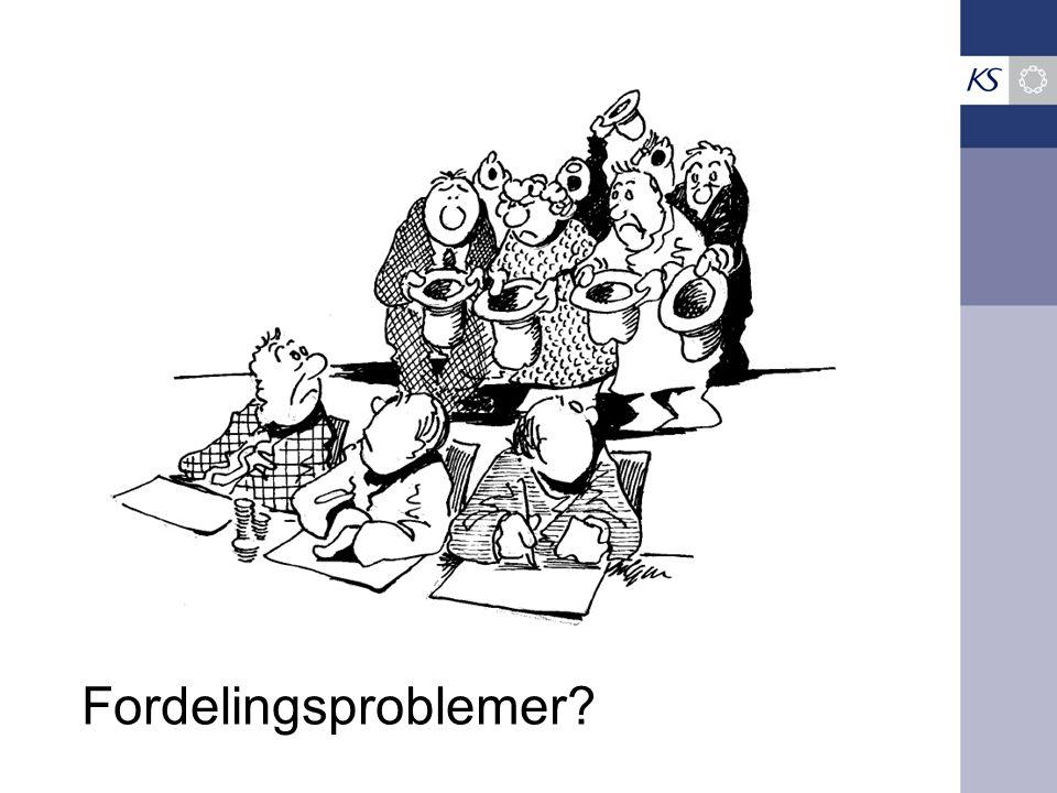 Fordelingsproblemer?