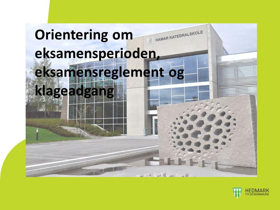 3ST: 3 skriftlige og 1 muntlig eksamen 3SF: 4 eksamener, hvorav en må være fra formgivning 3MK: 3 eksamener, 2 obligatoriske + trekkfag Norsk hovedmål er obligatorisk for alle – 29.
