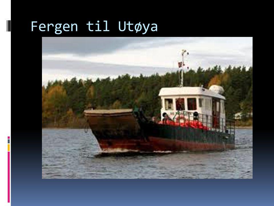 Leting etter personer på Utøya
