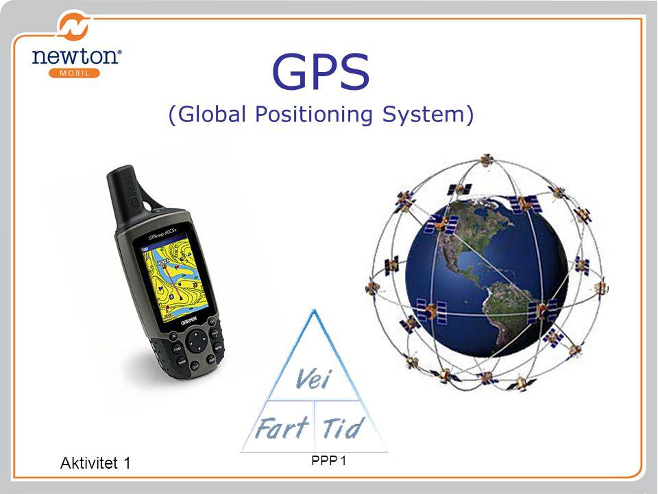 GPS (Global Positioning System) Aktivitet 1 PPP 1