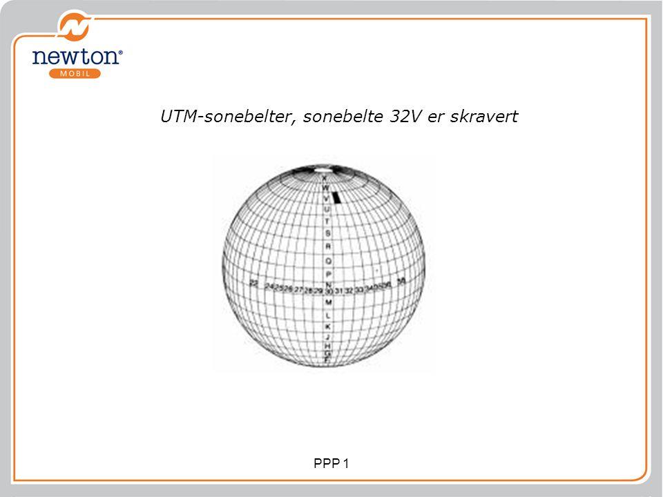 UTM-sonebelter, sonebelte 32V er skravert PPP 1