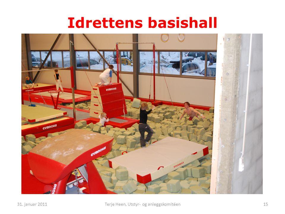 Idrettens basishall 31. januar 201115Terje Heen, Utstyr- og anleggskomitéen