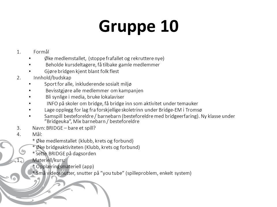 Gruppe 10 1.