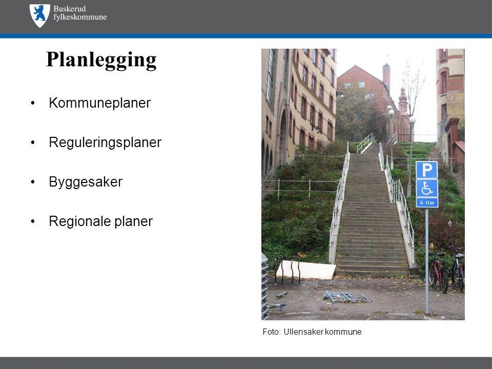 Planlegging •Kommuneplaner •Reguleringsplaner •Byggesaker •Regionale planer Foto: Ullensaker kommune