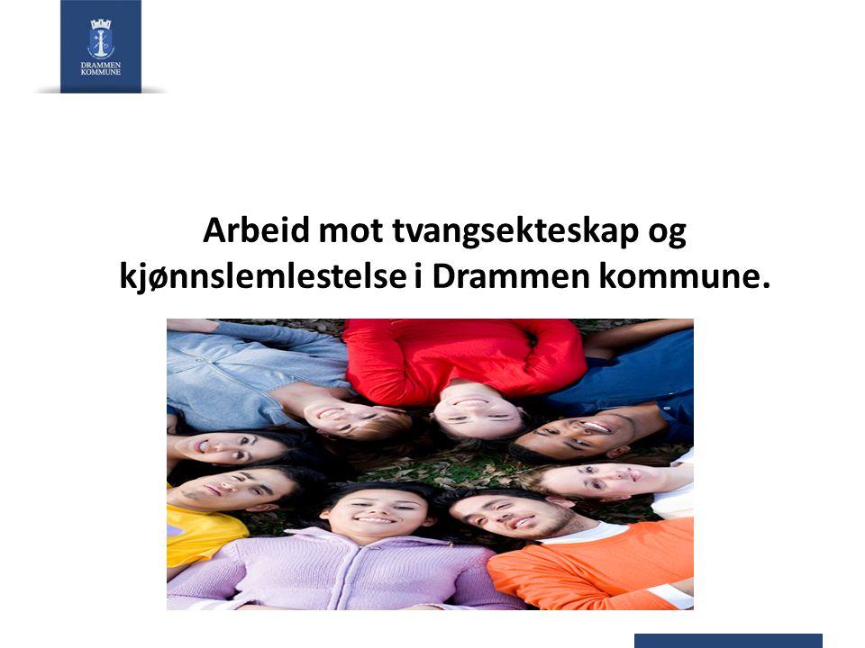 Arbeid mot tvangsekteskap og kjønnslemlestelse i Drammen kommune.