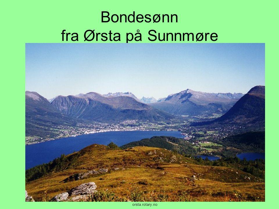 Bondesønn fra Ørsta på Sunnmøre orsta.rotary.no