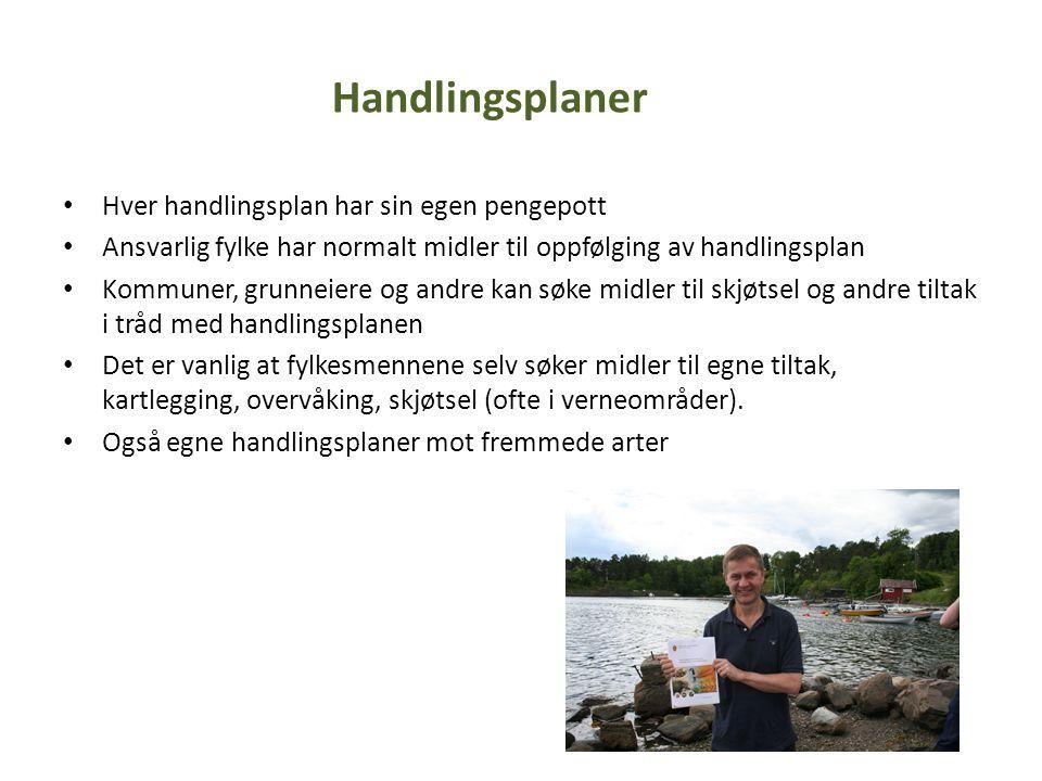 • I Oslo og Akershus forvalter miljøvernavdelingen i dag 197 naturreservater, landskapsvernområder og biotopvernområder.