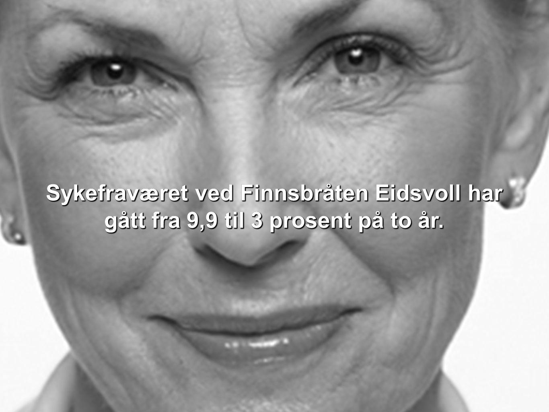 Ved Grilstad AS avdeling Stranda har sykefraværet gått fra 8,9 til 6,9 prosent i samme periode.