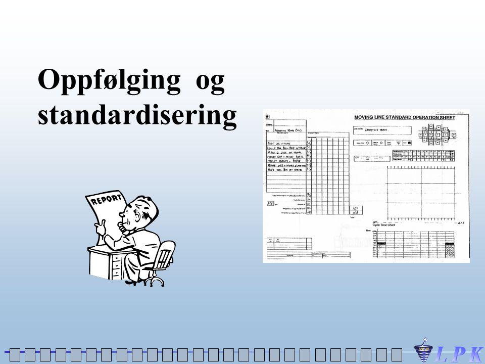 Oppfølging og standardisering