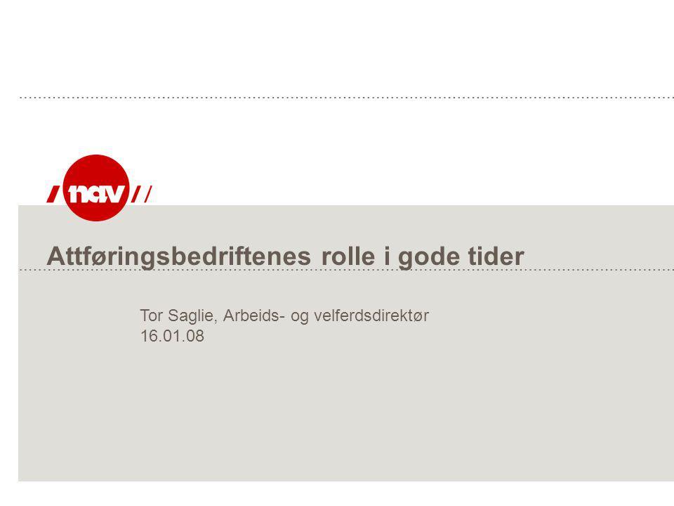 NAV, 27.06.2014Side 32 Forventinger til attføringsbedriftene Videreføre det gode arbeidet  Fortsatt omstilling i forhold til nye brukergrupper og nye krav i arbeidsmarkedet.