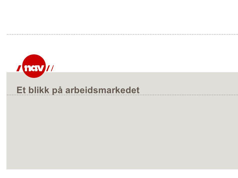 NAV, 27.06.2014Side 4 Antall personer i og utenfor arbeidsstyrken Totalt 4.7 mill.