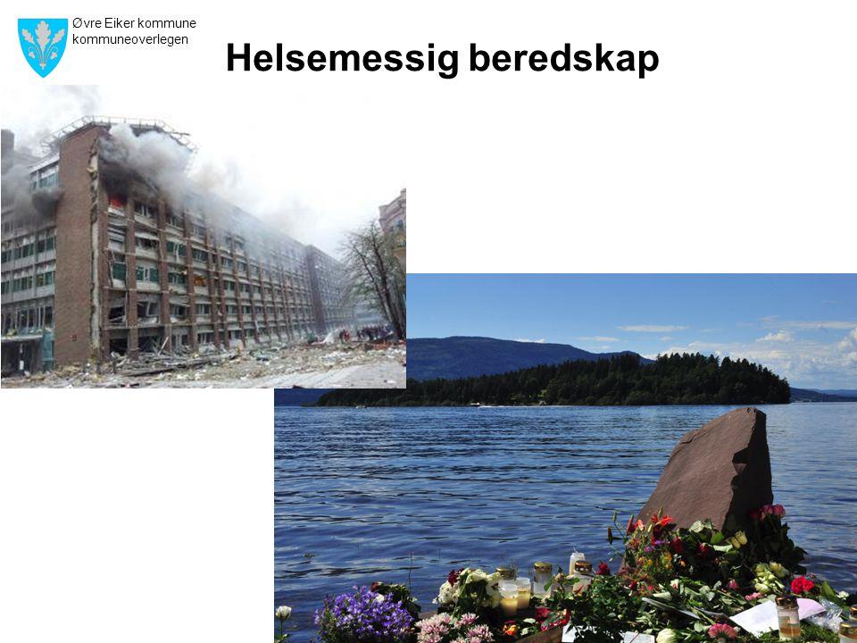 Øvre Eiker kommune kommuneoverlegen 30 Helsemessig beredskap