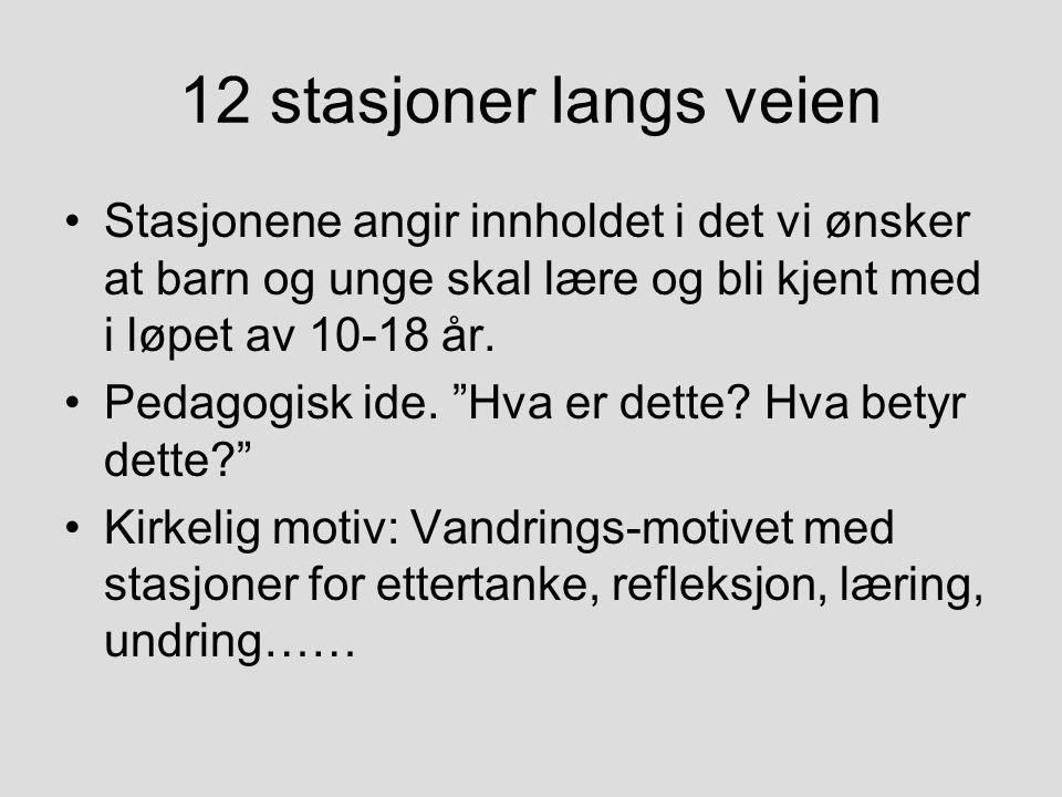 11 SLIKE INNGANGER TIL GANG- STIEN OPPOVER MOT KIRKEN