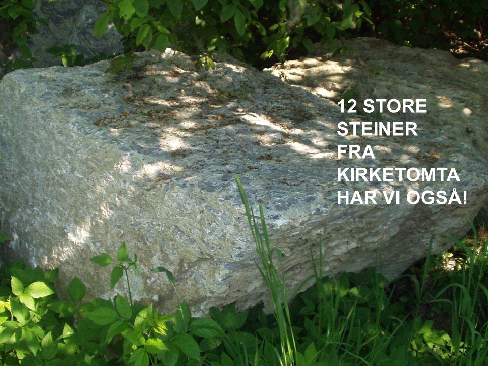 Hva kan det bli på steinene.•Kreativt arbeid….. •Faglig kvalitet.