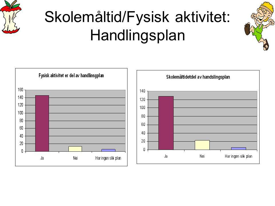 Skolemåltid/Fysisk aktivitet: Handlingsplan