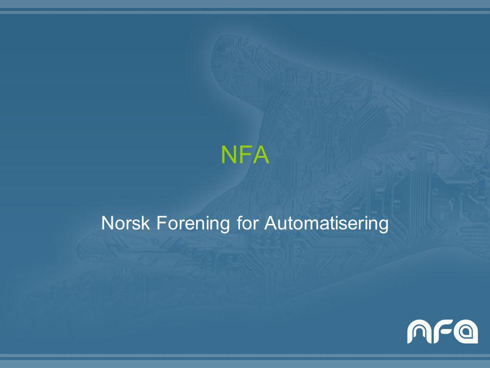 NFA Norsk Forening for Automatisering