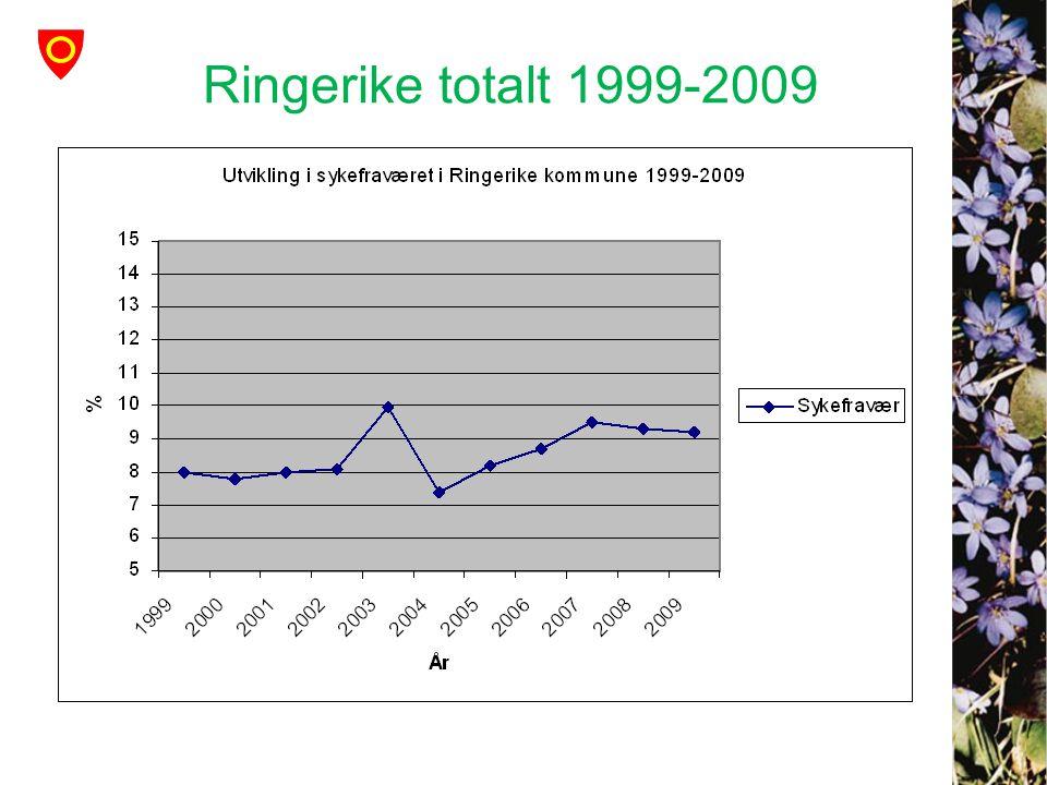 Ringerike totalt 1999-2009
