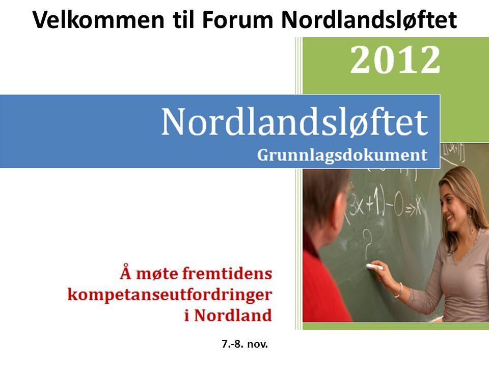 7.-8. nov. Velkommen til Forum Nordlandsløftet