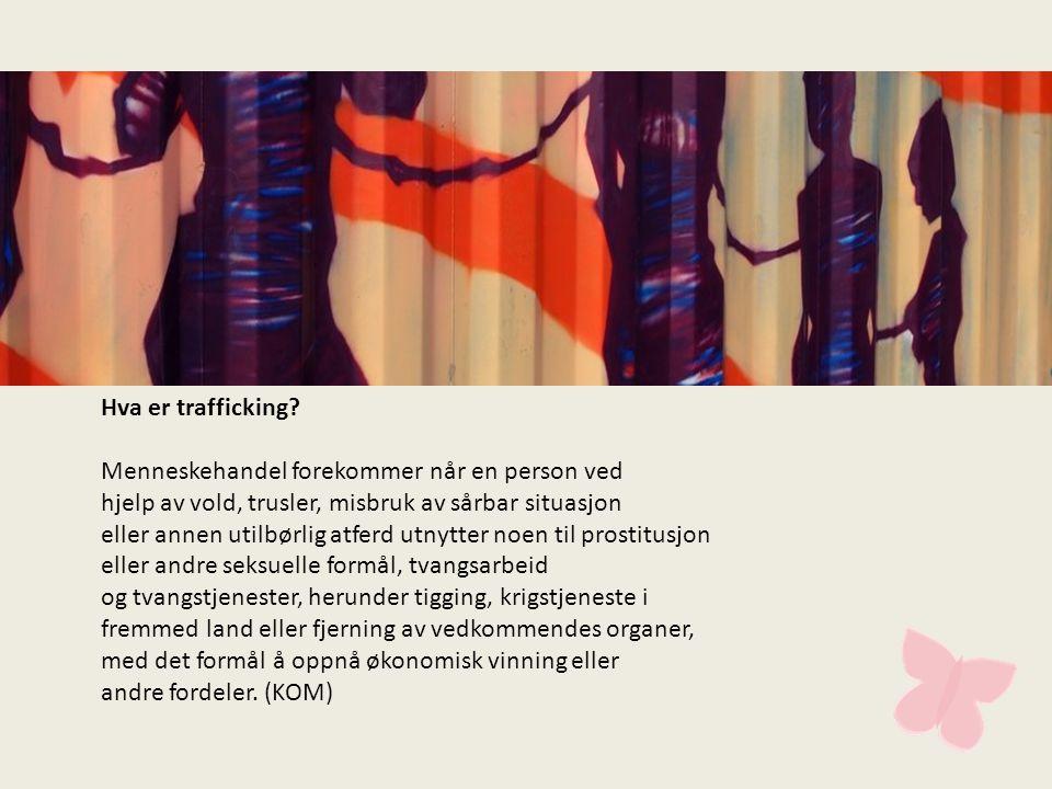 Hva er trafficking.