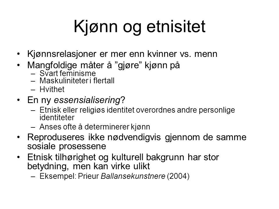 Intervjuer: Så har dere fått norske barn...Det blir litt annerledes.