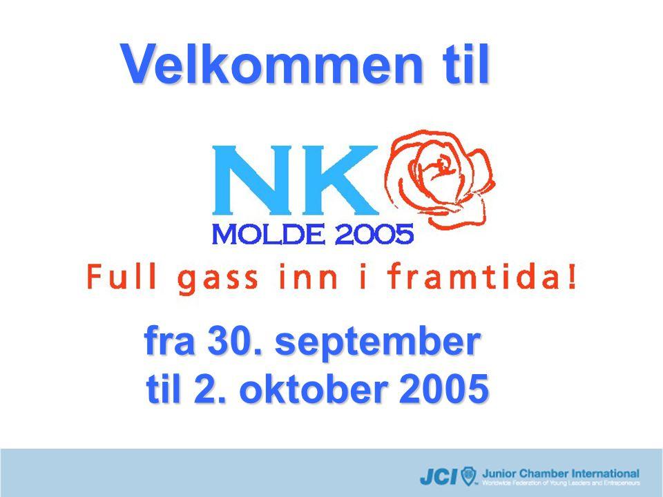 fra 30. september til 2. oktober 2005