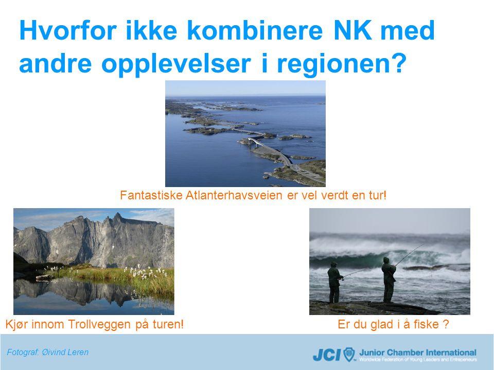 Hvorfor ikke kombinere NK med andre opplevelser i regionen.