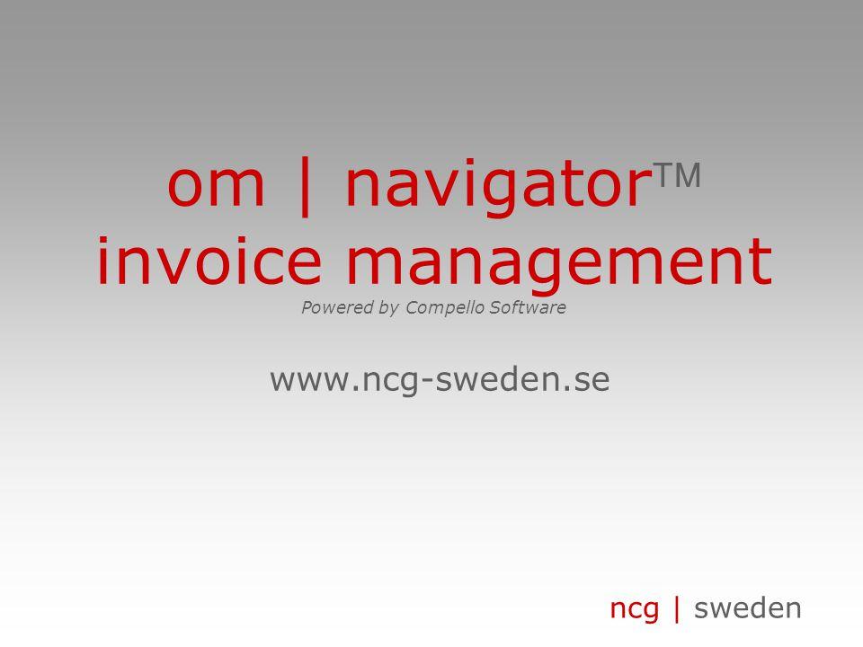 ncg | sweden om | traditionell fakturahantering leverantör beställare handläggare gruppchef sektionschef internpost inköps- avdelning ekonomi- avdelni