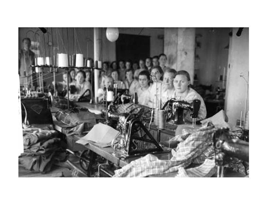 • De nye mulighetene hadde først og fremst betydning for kvinner fra middelklassen. • Kvinnene fra arbeiderklassen hadde lenge vært i arbeid på fabrik