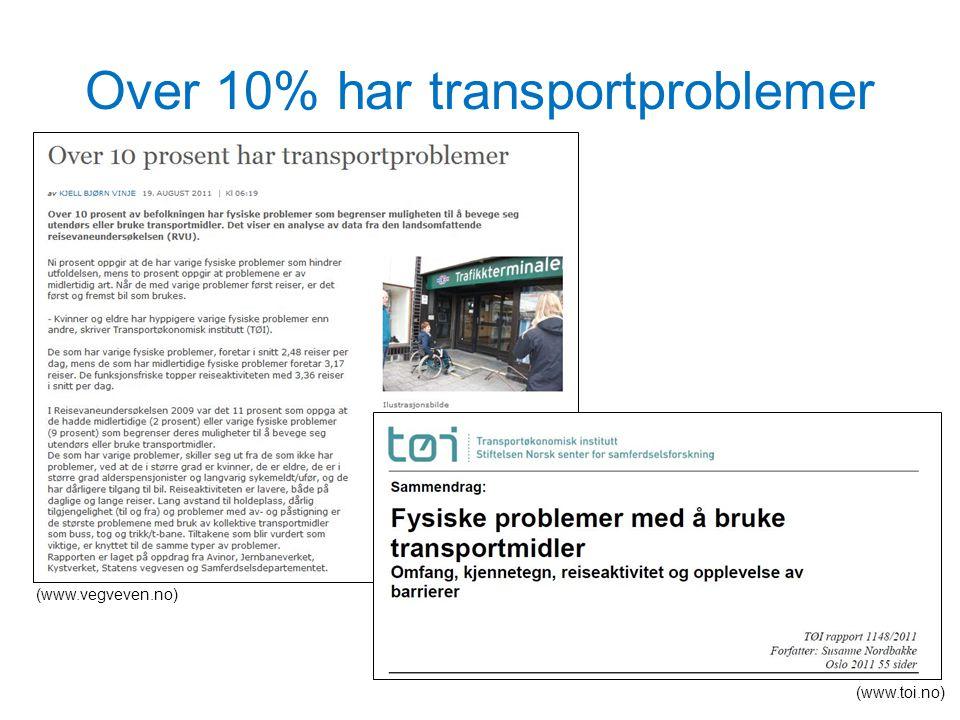 Nasjonal transportplan 2014 - 2023 Nødvendig for noen – bra for alle! Foto: Knut Opeide
