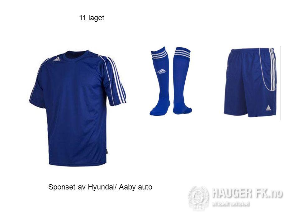 11 laget Sponset av Hyundai/ Aaby auto